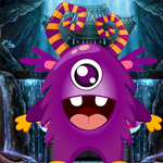 Purple Critter Rescue Games4King