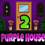 Purple House Escape 2 Games4King