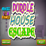 Purple House Escape CrazeInGames