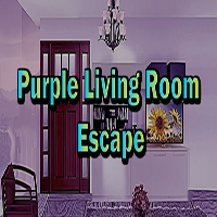 Purple Living Room Escape EscapeGamesZone