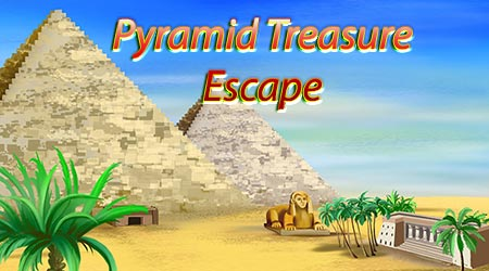 Pyramid Treasure Escape 365Escape