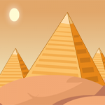 Pyramid Treasure Escape GenieFunGames