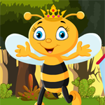 Queen Bee Rescue Games4King