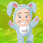 Rabbit Girl Escape Games4King