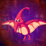 Red Creature Bird Escape Games4King