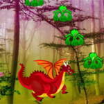 Red Dragon Forest Escape Games2Rule
