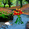 Red Flower Forest Escape Games2Rule