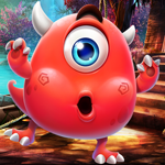 Red Monster Escape PalaniGames