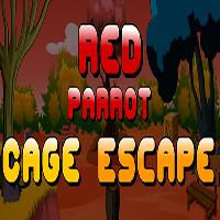 Red Parrot Cage Escape EscapeGamesToday