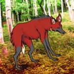 Red Wolf Forest Escape Games2Rule