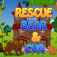 Rescue Bear And Cub Games2Jolly