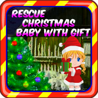 Rescue Christmas Baby With Gift AvmGames