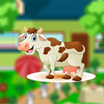 Rescue Farmhouse Cow AvmGames