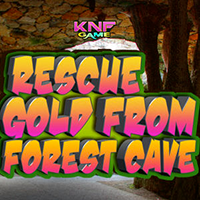 Rescue Gold From Forest Cave KNFGames