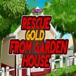 Rescue Gold From Garden House KNFGames