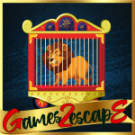 Rescue Of Circus Lion Games2Escape