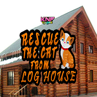 Rescue The Cat From Log House KNFGames