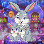 Rescue The Genial Bunny Family Games4King