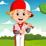 Rescue The Softball Player Games4King