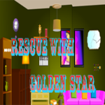 Rescue With Golden Star GamesClicker