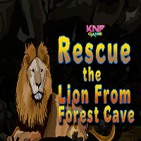 Rescue The Lion From Forest Cave KNFGames
