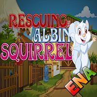 Rescuing Albino Squirrel Escape ENA Games