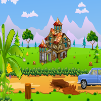 Rest House Car Rescue Games2Jolly