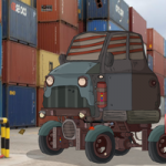 Restricted Container Yard Escape GenieFunGames
