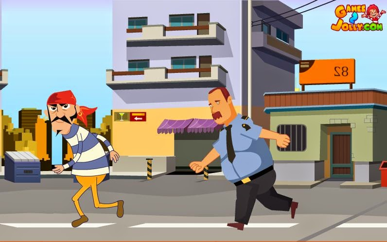 Robber Arrest Games2Jolly