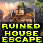 Ruined House Escape Games4King
