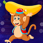 Running Banana Monkey Escape Games4King