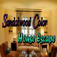 Sandalwood Color House Escape GamesClicker