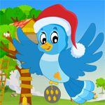 Santa Bird Rescue Games4King