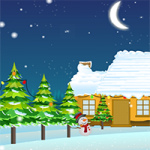 Santa Clause Escape From The Snow City Escape007Games