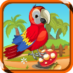 Scarlet Bird Escape ZooZooGames