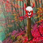 Scarlet Ghost Forest Escape Games2Rule
