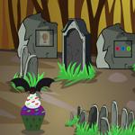 Scary Graveyard Escape 5 GenieFunGames