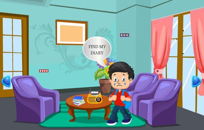 School Boy Diary Escape Games 2 Jolly