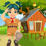 Scout Girl Rescue Games4King