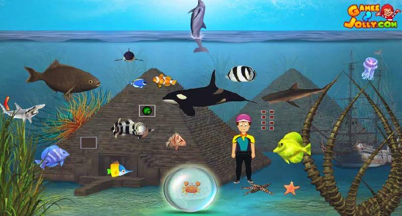 Scuba Diver Rescue Games2Jolly