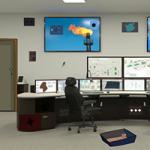 Secruity Control Room Escape GenieFunGames