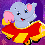 Sedate Elephant Cub Escape Games4King