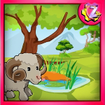 Sheep Garden Escape GamesZone15
