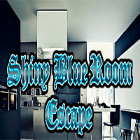 Shiny Blue Room Escape GamesClicker