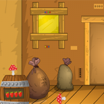 Shiny Easter Wooden Door Escape GenieFunGames