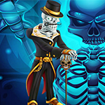Skeleton King Escape Games4King