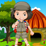 Small Girl Escape From Stone House Games4King