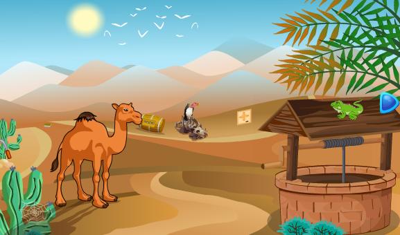 Smiley Desert Escape Games2Jolly
