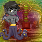 Snake Monster Boy Escape Games4King