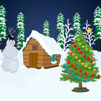 Snow Forest Christmas Escape Games2Rule